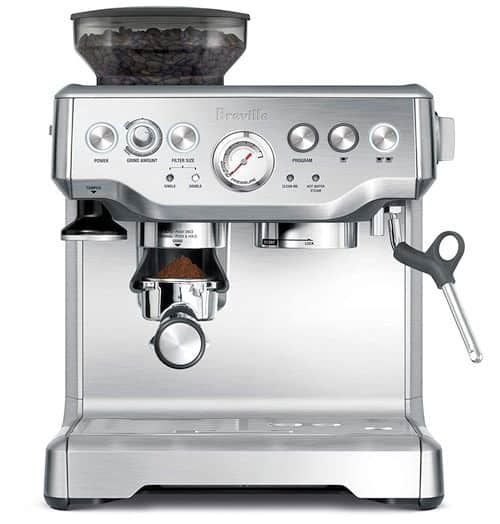Best Coffee Maker With Grinder - Breville the Barista Express Espresso Machine