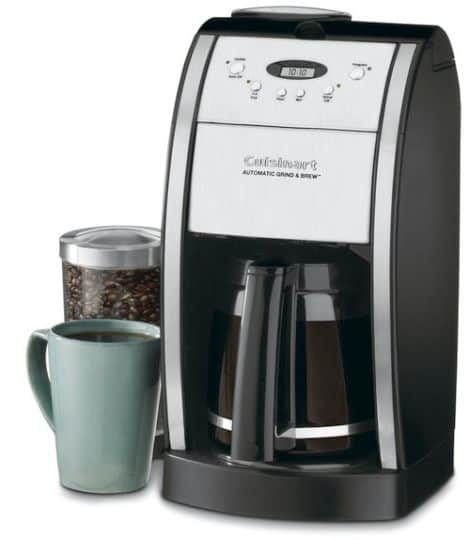 Best Coffee Maker With Grinder - Cuisinart DGB-550BK Grind & Brew Automatic Coffeemaker