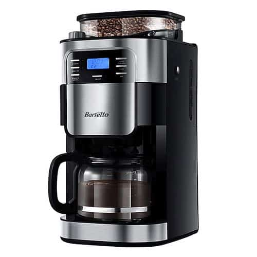 Best Coffee Maker With Grinder - Grind & Brew Automatic Coffeemaker Barsetto