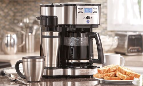 Best Drip Coffee Makers - Hamilton Beach 49980A Coffee Maker