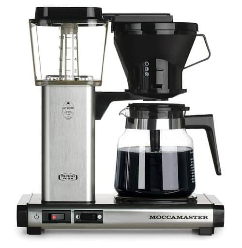 SCA Certified Best Drip Coffee Makers - Technivorm Moccamaster 59691 KB Coffee Brewer
