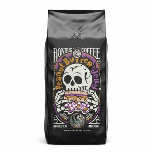 Bones Coffee Peanut Butter And Jelly Coffee