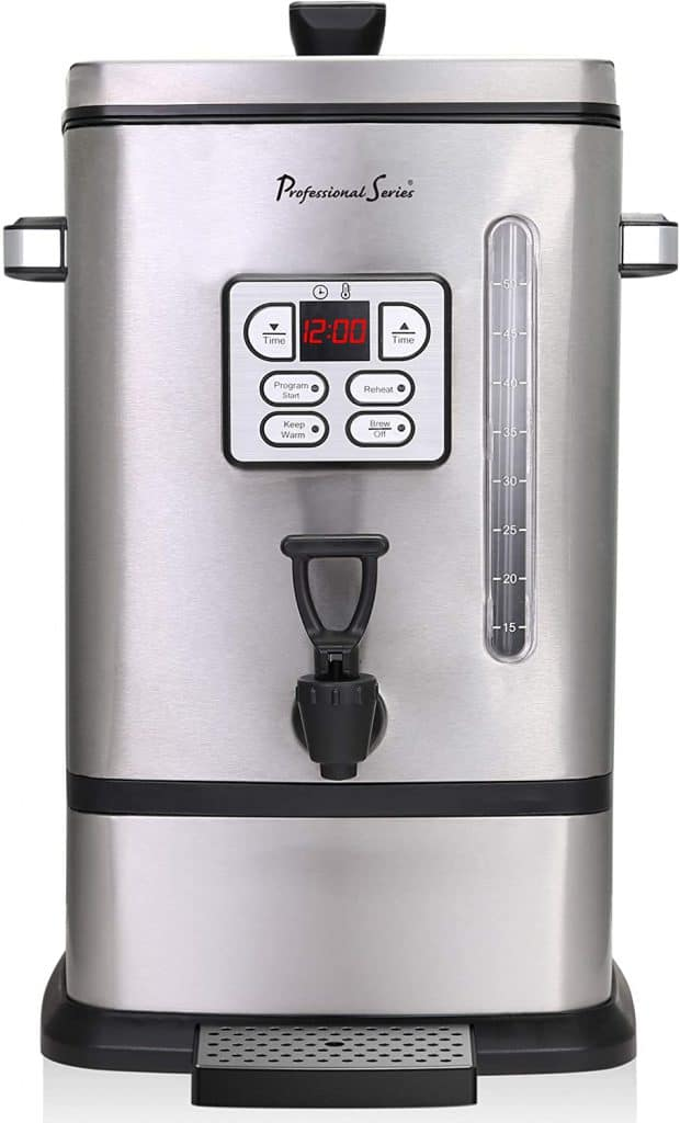Continental Electric PS-SQ018 Coffee Urn