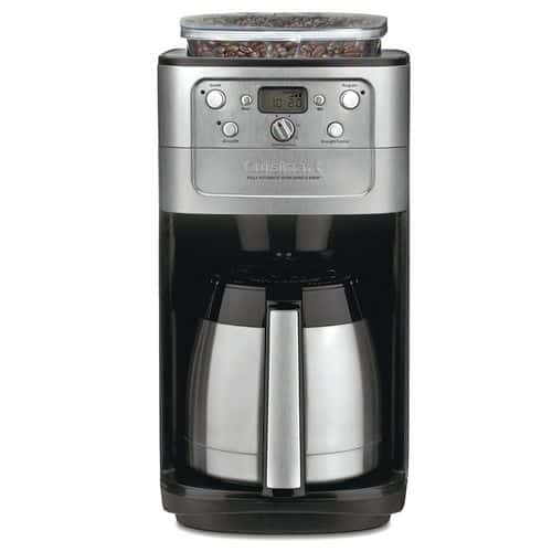Best Coffee Maker With Grinder - Cuisinart DGB-900BC Grind & Brew Thermal 12-Cup Automatic Coffeemaker