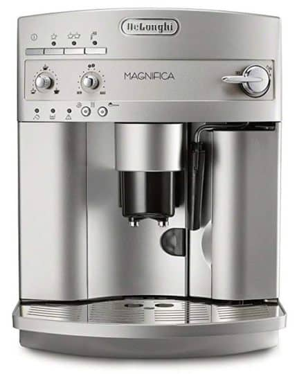Best Coffee Maker With Grinder - DeLonghi ESAM3300 Magnifica Super-Automatic Espresso Machine