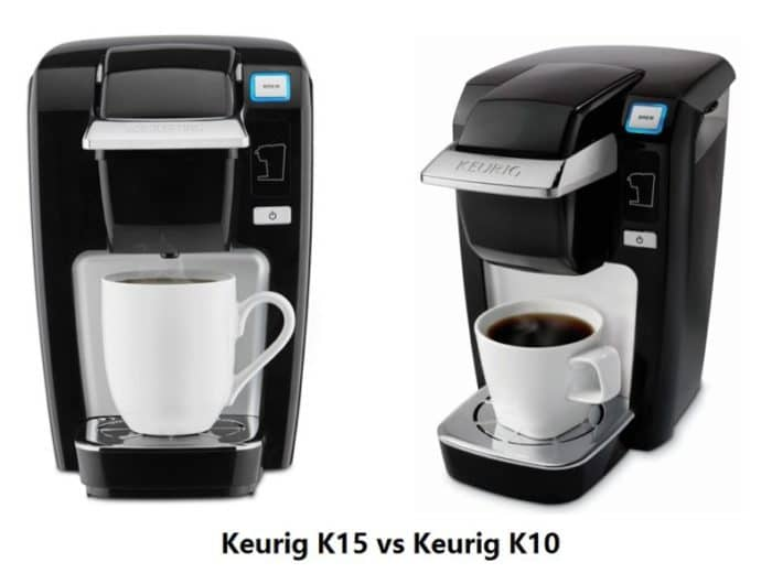 Keurig K10 vs K15 - Difference and Review