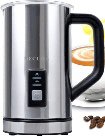 Best Milk Frother - Secura Automatic Electric Milk Frother and Warmer