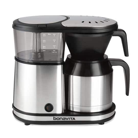 Best 4 Cup Coffee Maker - Bonavita One-Touch Coffee Maker BV1500TS
