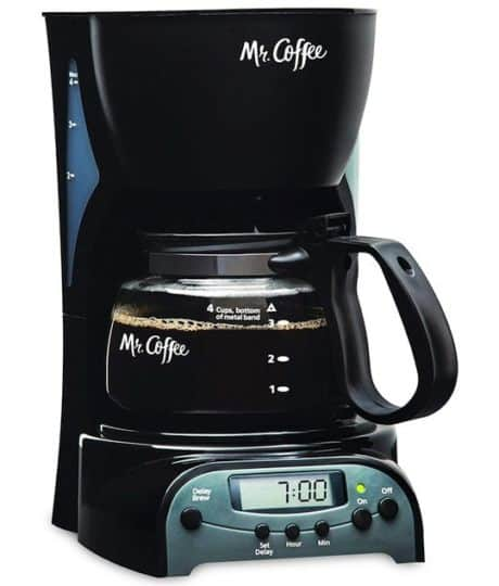 Best 4 Cup Coffee Maker - Mr. Coffee 4-Cup Programmable Coffee Maker