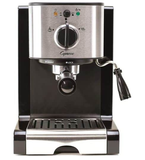Best Espresso Machine Under $200 - Capresso 116.04 Pump Espresso and Cappuccino Machine EC100