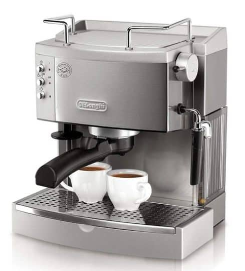 Best Espresso Machine Under $200 - DeLonghi EC702