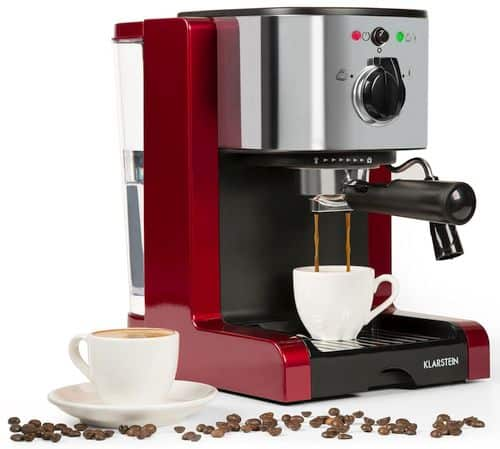 Best Espresso Machine Under $200 - Klarstein Passionata Rossa 15 Espresso Machine