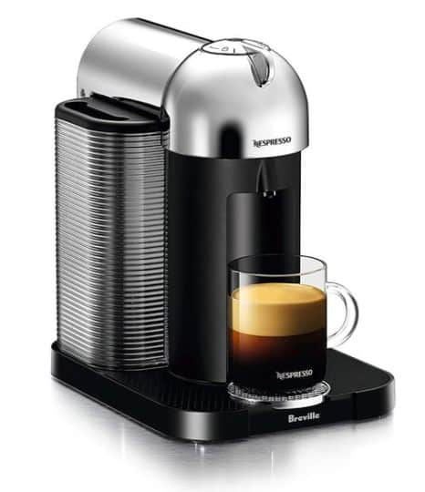 Best Espresso Machine Under $200 - Nespresso Vertuo Coffee and Espresso Machine by Breville