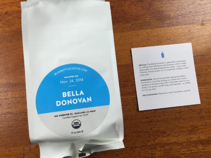 Blue Bottle Coffee Subscription