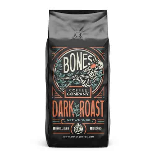 Bones Coffee Dark Roast Coffee