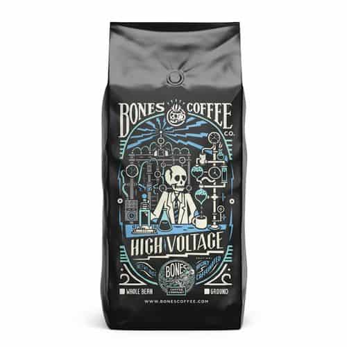 Bones Coffee High Voltage Coffee