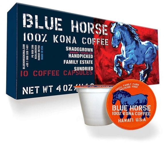 Best Kona Coffee K-Cups - Blue Horse Coffee for Representation Image