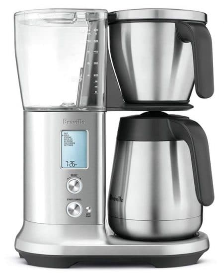 Best Non-Plastic Coffee Makers - Breville BDC450 Precision Brewer Coffee Maker