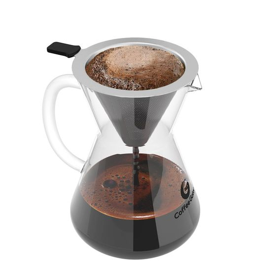 Best Non-Plastic Coffee Makers - Coffee Gator Pour Over Brewer