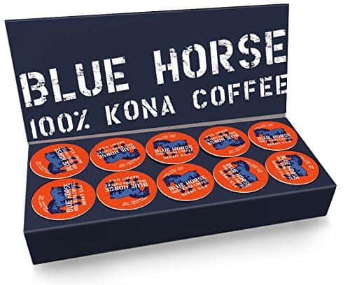 Blue Horse 100 Kona Coffee K-cups