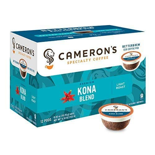 Camerons Coffee Single Serve Pods