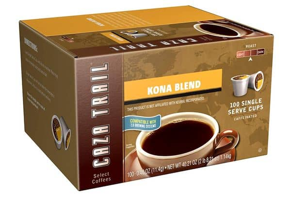Caza Trail Coffee Kona Blend