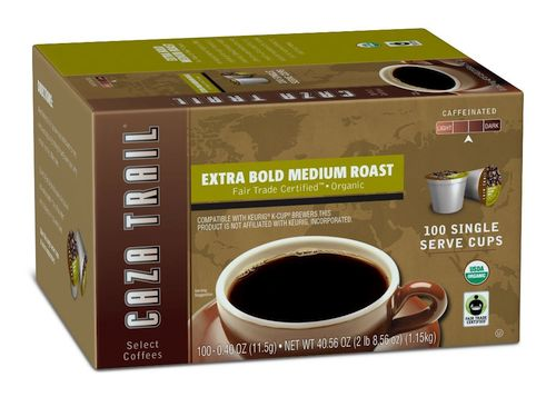 Caza Trail Coffee Organic Extra Bold Medium Roast