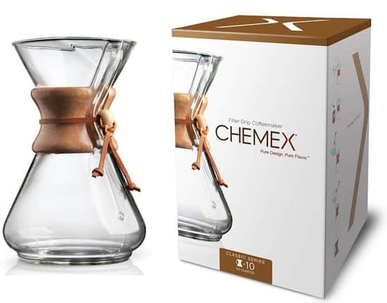Chemex Classic Series, Pour-Over Glass Coffeemaker
