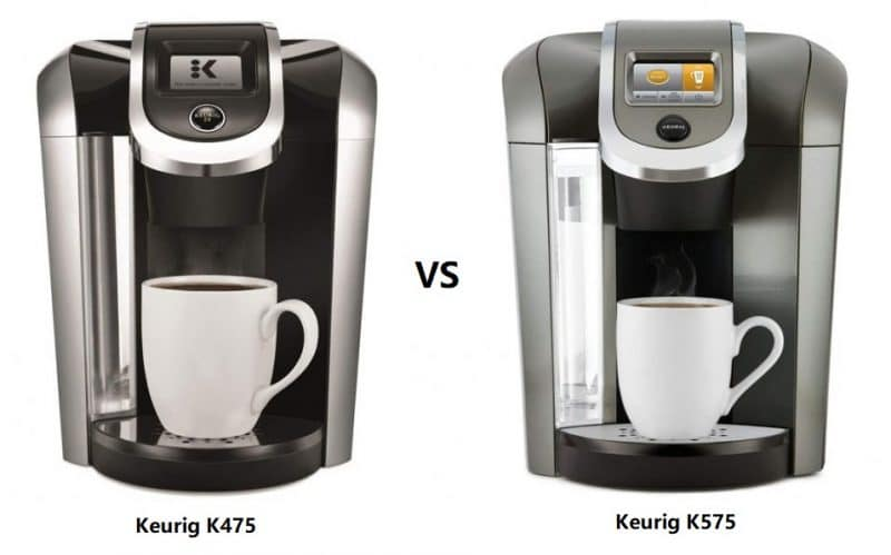 Keurig K475 vs K575 Coffee Maker Comparison