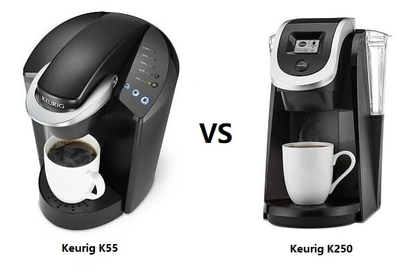 Keurig K55 vs K250 Coffee Maker Comparison