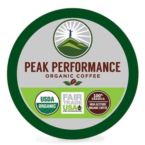 Peak Performance High Altitude Organic Coffee Pods