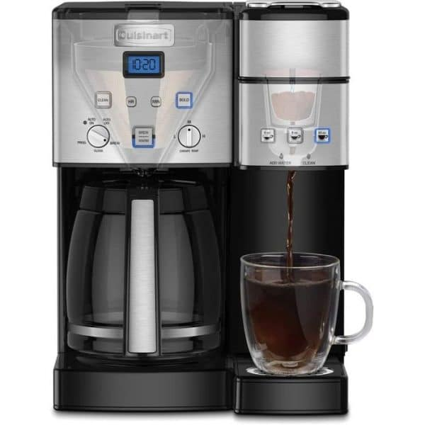 Single Cup And Pot Coffeemaker