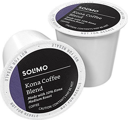 Solimo Medium Roast Coffee Pods Kona Blend
