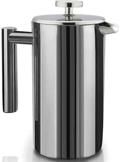 Sterling Pro French Press Double Walled Stainless Steel