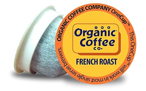 The Organic Coffee Co OneCup French Roast