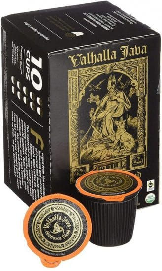 Valhalla Java Single Serve Coffee Pods for Keurig