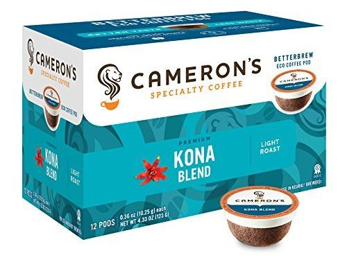 Cameron's Coffee Single Serve Pods Kona Blend