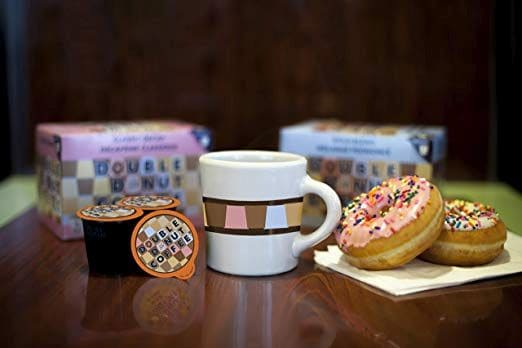 Double Donut Hot Chocolate
