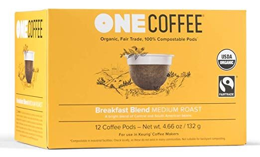 OneCoffee Organic Breakfast Blend
