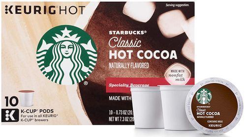 Starbucks Classic Hot Cocoa K-Cup for Keurig Brewers