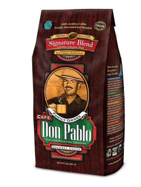 Cafe Don Pablo Gourmet Coffee Blend