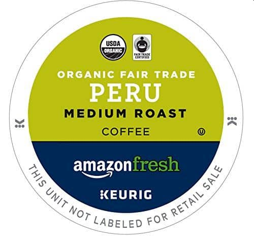 AmazonFresh Organic Fair Trade K-Cups