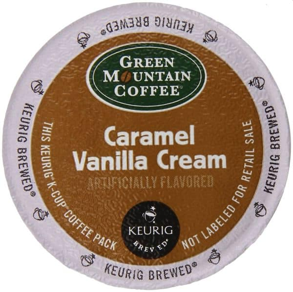 Green Mountain Coffee Caramel Vanilla Cream K-Cups