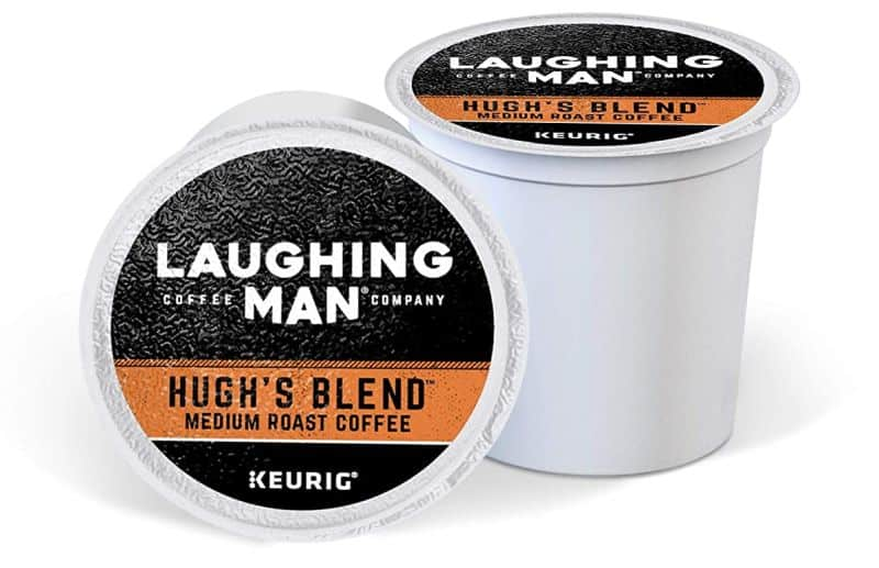 Laughing Man Hugh's Blend Keurig Single-Serve K-Cup Pods