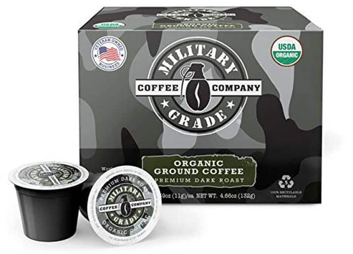 Military Grade Coffee K-Cups