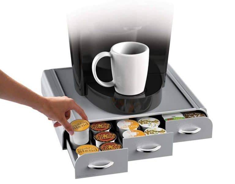 Mind Reader 36 Capacity Anchor Triple Drawer For K-Cups