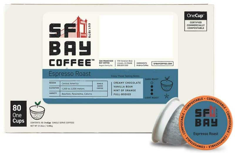 SF Bay Coffee Espresso Roast
