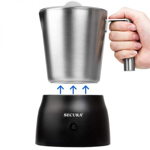 Secura 4 in 1 Electric Automatic Milk Frother