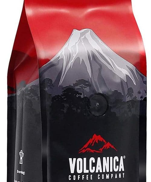 Volcanica Coffee Kenya AA Coffee Beans Packaging