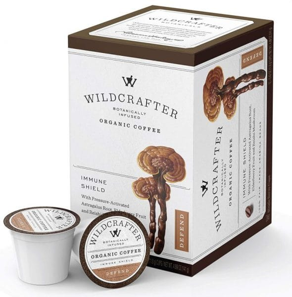 Wildcrafter Botanicals Organic Coffee K Cups